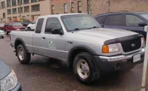 2001 Silver Ford Ranger truck, Fernie