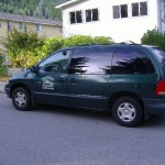 1999 Green Dodge Caravan