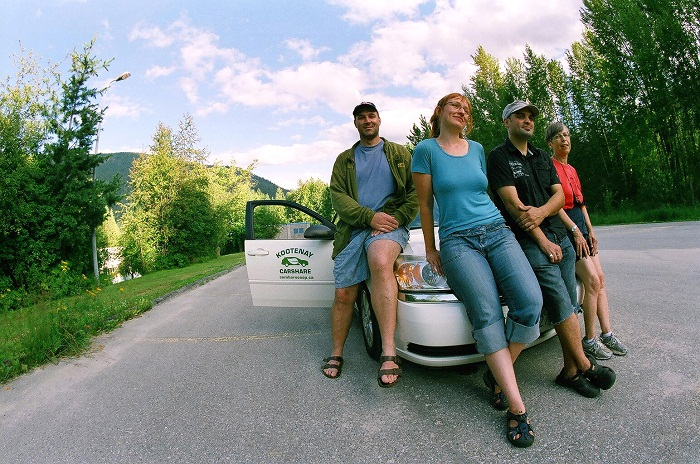 members of the Kootenay Carshare Co-op