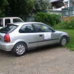 1998 Grey Honda Civic hatchback, Kimberley